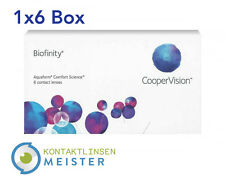 Cooper Vision - Biofinity - Contact Lenses - Kontaktlinsen 1×6 - All sizes - New