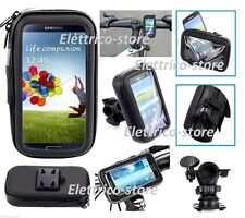 PORTA CELLULARE SUPPORTO DA MOTO BICI IMPERMEABILE WATERPROOF IPHONE ANDROID