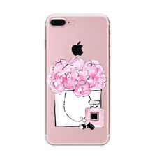 Shopping Flowers Peonies Perfume Phone case/cover For All iPhone Models UK
