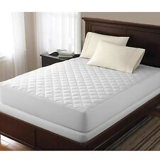 EXTRA DEEP QUILTED MATTRESS PROTECTOR 30cm FITTED BED COVER:ALL SIZES