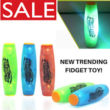 FIDGET ROLLER TOY LED STRESS RELIEF STICK FLIP ROLLVER SPINNER ANXIETY ADHD UK✅