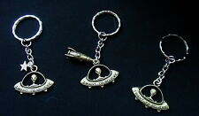 Alien Keyring - 'I Want To Believe' - Makes a Great Space / UFO / X-files Gift