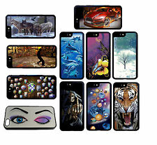 Changing Picture 3D Effect Case Cover Protector for iphone Samsung Mobile Phones