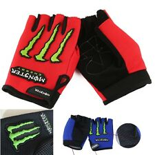Antiskid Half Finger Gloves Racing Cycling Sports Glove Outdoor Bicycle Mountain