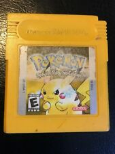 Pokemon Yellow Gameboy Cart Only