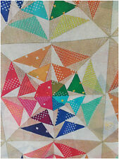 100% Mulmul Cotton Printed Summer Fabric Triangle Dress Material by meter Inhika