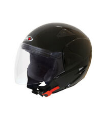 SHIRO HELMETS - Casco jet SHIRO SH-60 Manhathan negro