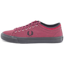 Fred Perry B5210 Kendrick Tipped Cuff Port Royal Trainer Brand New Shoes Boxed