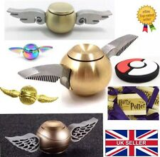 Harry Potter Golden Snitch Fidget Spinner Quidditch WITH BOX Next Day Delivery