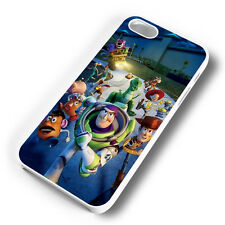 TOY STORY WHITE PHONE CASE COVER FITS IPHONE (#WH)