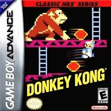 Donkey Kong Classic NES Series Gameboy Advance Cart Only