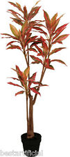 Best Artificial 1,5 M 150cm Rojo Dracaena Dragon Árbol Planta Tropical