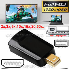 ThunderBolt Mini DP Display Port Male to HDMI Female HD Cable Converter Adapter