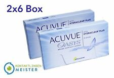 Acuvue OASYS Hydraclear - Contact Lenses - Kontaktlinsen - 2×6 - All Sizes - New