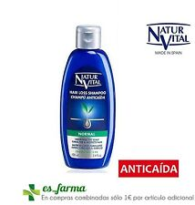 NATUR VITAL CHAMPU ANTICAIDA ALOE VERA CABELLO NORMAL 100ML HAIR LOSS GINSENG