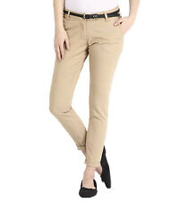 Haltung Women's Skinny Fit Mid Rise Fawn Trouser (HALTUNG-WT-FAWN)