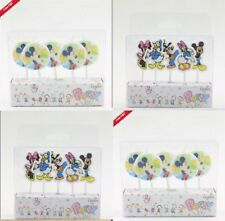 Mickey Mouse Mini Mouse Birthday Cake Candles Cupcake Toppers Wrappers