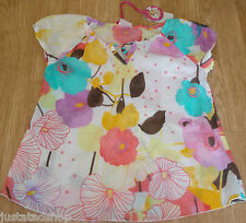 Nolita Pocket girl  Donkey summer top blouse 3-4 y  BNWT designer