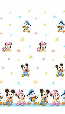 Curtain Mickey Mouse Minnie Donald 160/210 cm long V. Wide Kid's Room