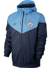 Manchester City Training Jacket 2017 18 Blue Authentic Windrunner