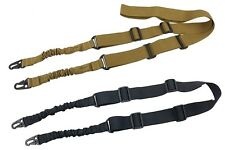 Airsoft Tactical 2 Point Rifle Sling Fields Bungee Sling Shooting Gun Two
