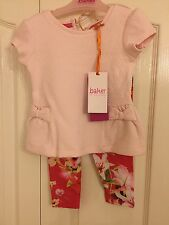 Ted baker baby girls textured top and leggings set with sizes. BNWT. Designer