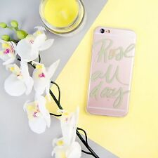Rose All Day Wine Lovers Quote Alcohol iPhone 5/5S/SE 6/6S 7 Plus Case/Cover UK!