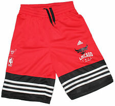adidas Jungen Basketball Shorts AH5082 Y BASICS SHORT Chicago Bulls NBA NEU @188