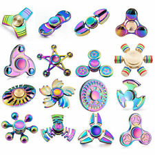 Rainbow Fidget Spinner Metal Multi-colour Spinner Trending on Ebay - Best Styles