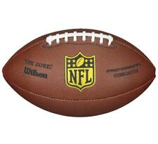 Wilson NFL Pro Official Size Composite Duke Replica American Football