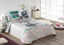original colcha bouti colors estampado digital quilt cortina con ollaos London