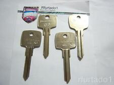 Key Blank for Vintage Mercedes S, SL Class 1969 to 1979 Ignition/Valet
