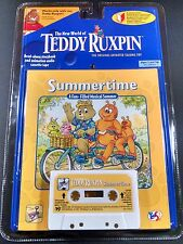 Teddy Ruxpin Yes! Summertime A Fun-Filled Musical Summer Cassette Tape NEW
