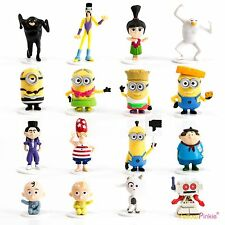 DESPICABLE ME 3 3D MINIONS FIGURES OFFICIAL NOVELTY FILM TOY