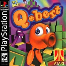 Q*Bert PS1 Playstation 1 Complete CIB Tested