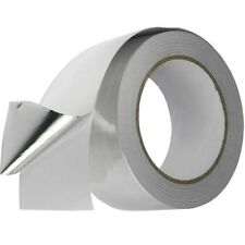 "Aluminium Foil Tape Self Adhesive 2"" 48mm x 50m Heat Insulation Duct Rolls"