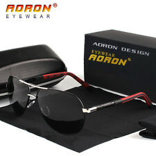 AORON-Polarized-Men's-Sunglasses-Sports-Eyewear-Aluminum-UV400-Driving-Glasses