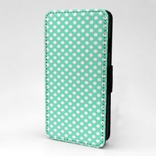 Polka Dot estampado Funda libro para Apple iPod - t1060