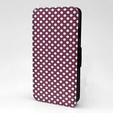 Polka Dot estampado Funda libro para Apple iPod - t1058