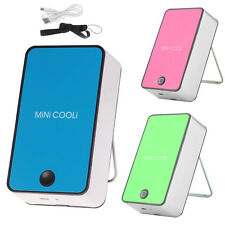 Portable Mini USB Fans Air Conditioner Cooling Cooler Summer Home Office Travel