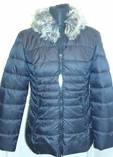 Happy Goose High Density Microfibre Quilted Jackets With Faux Removeable Collar