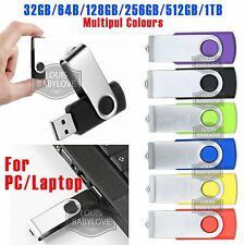 USB Flash Drive U Disk Digital Storage 32/64/128GB/256GB/512GB/1TB Memory Stick