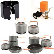 FOX COOKWARE RANGE - CHOOSE FROM KETTLE, COOK SET, STOVE, WINDSHIELD