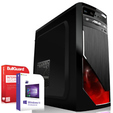 Gamer PC System Komplett AMD Ryzen 5 1400 16GB 1000GB HDD Geforce GTX 1060 6GB