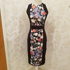 ted baker akva dress sz 2 3 4 UK size 10 12 14  bnwt no offers