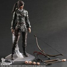 Tomb Raider Action Figure Lara Croft Play Arts Kai Movie Rise of The Tomb Raider