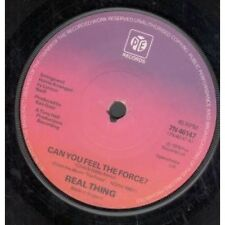 """REAL THING Can You Feel The Force 7"""" VINYL UK Pye 1978 B/W Children Of The"""