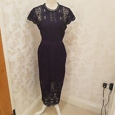ted baker emelia lace dress sz 4 UK size 14 US size 10 bnwt no offers