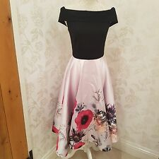 ted baker lairea poppy dress sz 2 3 4 UK size 10 12 14  bnwt no offers