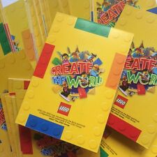 Sainsburys LEGO Create the World - Select individual trading card no's FREE P&P